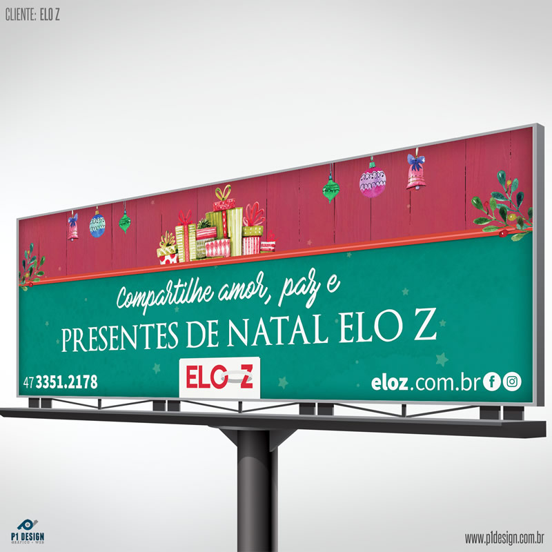 Outdoor Presentes de Natal Elo Z 2016